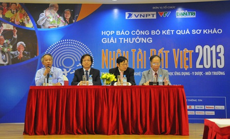 Buổi họp báo công bố sản phẩm CNTT lọt chung khảo NTĐV 2013.
