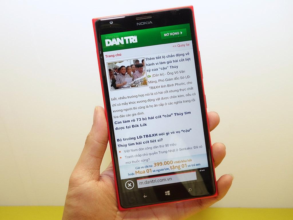 Nokia Lumia 1520 lên kệ với giá 16 triệu đồng