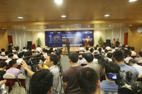 Buổi phát động thu hút rất đông PV tới tham dự đưa tin.