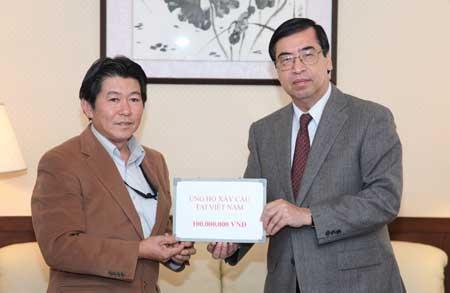Một Việt Kiều ở Nhật ủng hộ 100 triệu đồng xây cầu tại Quảng Bình - 1