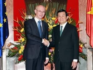EU cam kết thúc đẩy việc ký kết FTA với Việt Nam