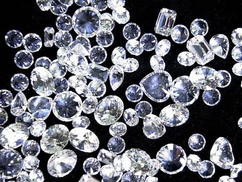 Nam Phi là một trong những nước sản xuất kim cương hàng đầu thế giới. Ảnh: AP