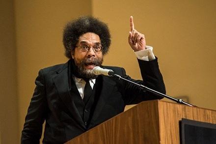 """Giáo sư Cornel West cho rằng ông Obama là """"tội phạm chiến tranh""""."""