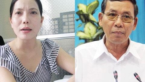 Bà Trần Hồng Ly và ông Trần Khiêu.