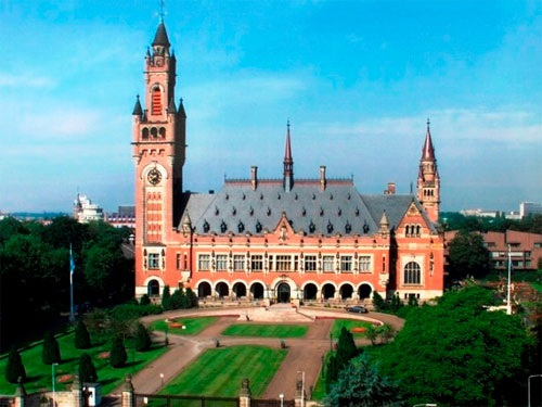 Tòa nhà Trọng tài Thường trực ở The Hague - Hà Lan