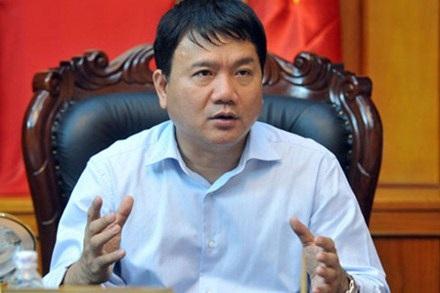 Bộ trưởng Đinh La Thăng.
