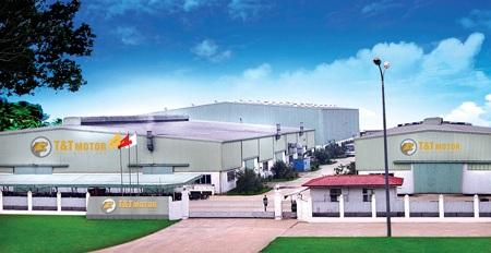 Nhà máy của T&T Motor tại Hưng Yên