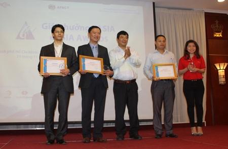 Hình ảnh tại buổi lễ trao giải thưởng