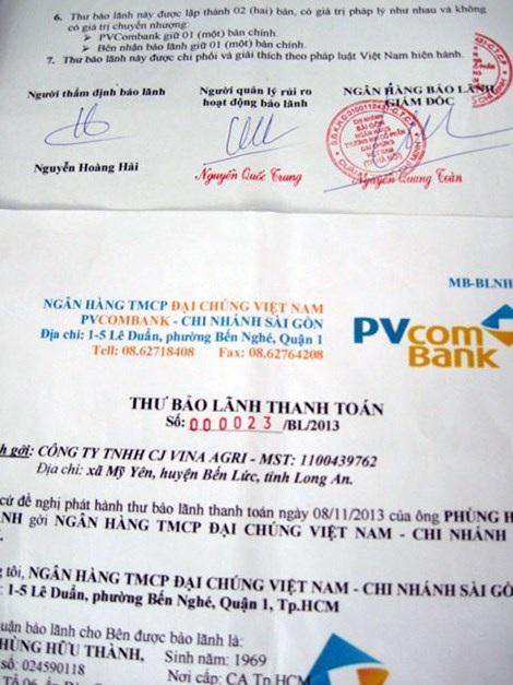Thư bảo lãnh của PVcomBank bị Nguyễn Hoàng Hải làm giả để lừa đảo chiếm đoạt tài sản
