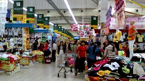 Các DN ngoại đổ xô vào ngành bán lẻ và đã thành công ở Việt Nam (ảnh minh họa)