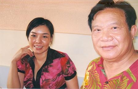Bức hình do độc giả báo Dân trí cung cấp, được bà Chi xác nhận là của vợ chồng ông Paul Lê Hùng