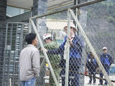 Đến chiều 27/12, nhà máy vàng Phước Sơn vẫn chưa hoạt động trở lại.
