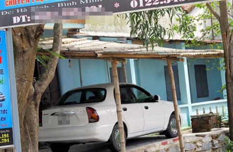 Xe ô tô của ngư dân xuất ngoại gửi tiền về mua.