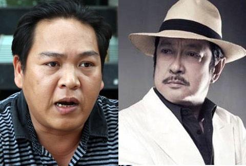 Ông Nguyễn Đức Quân Anh (trái) và diễn viên Chánh Tín