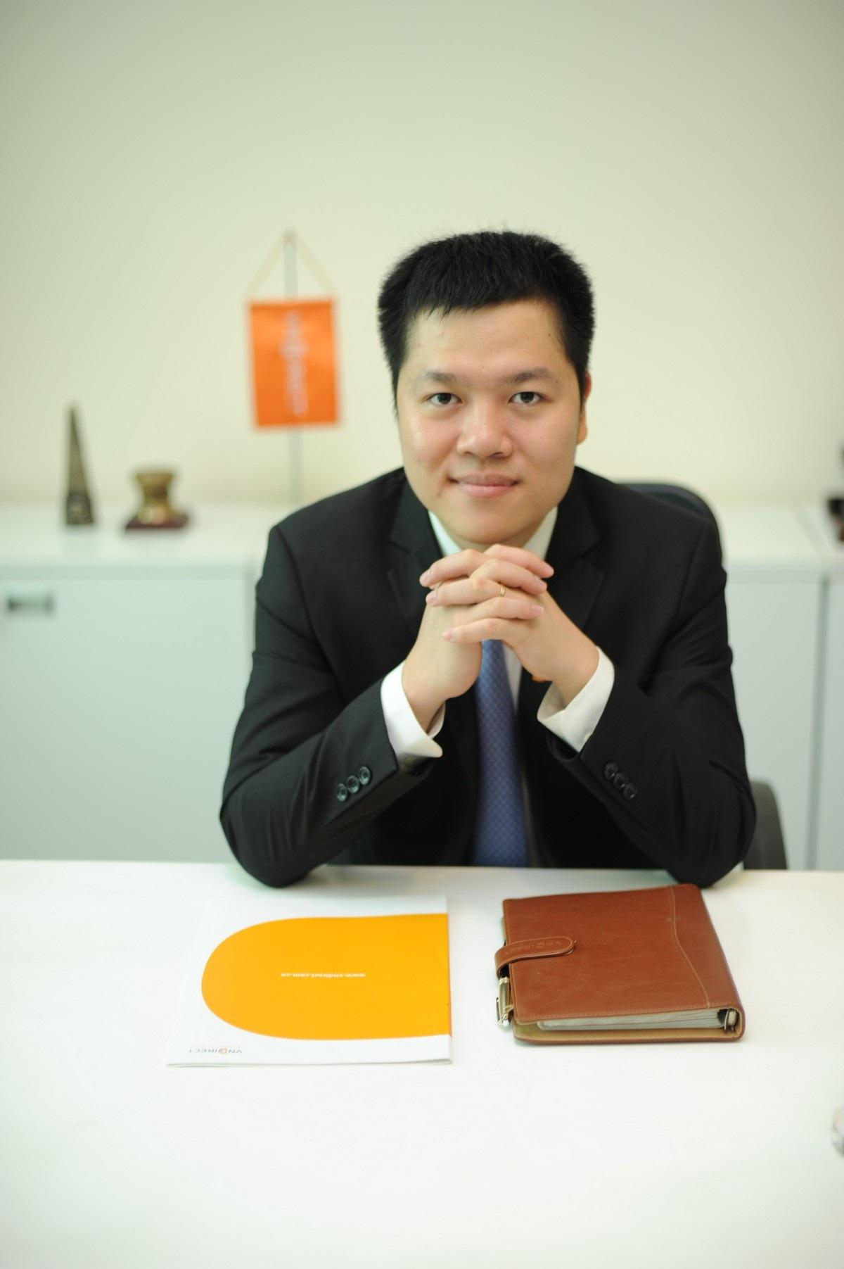Ông Nguyễn Hoàng Giang - Tổng giám đốc VNDirect.