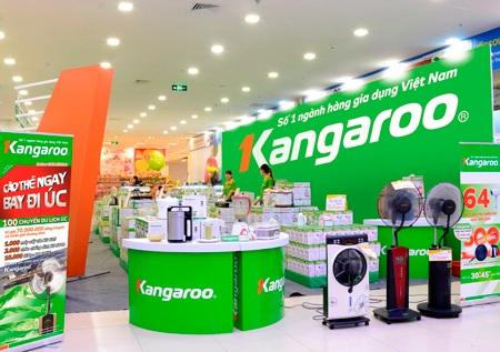 Quạt phun sương nằm trong top sản phẩm bán chạy nhất tại các showroom của Kangaroo