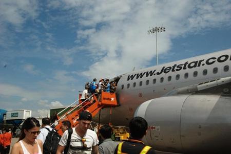 Hành khách bay với Jetstar Pacific