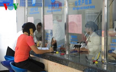 Giao thương kinh tế tại khu thương mại quốc tế Đông Hưng, Trung Quốc. (Ảnh: Vũ Hạ
