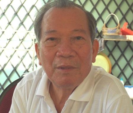 Ông Nguyễn Minh Nhị, nguyên chủ tịch An Giang. Ảnh: Duy Chiến
