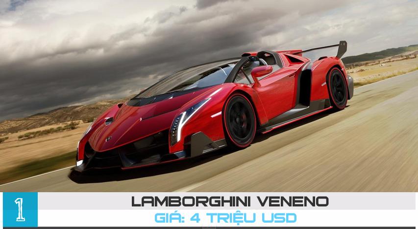 [Infographics] Top 10 siêu xe đắt nhất hành tinh năm 2015 - 10