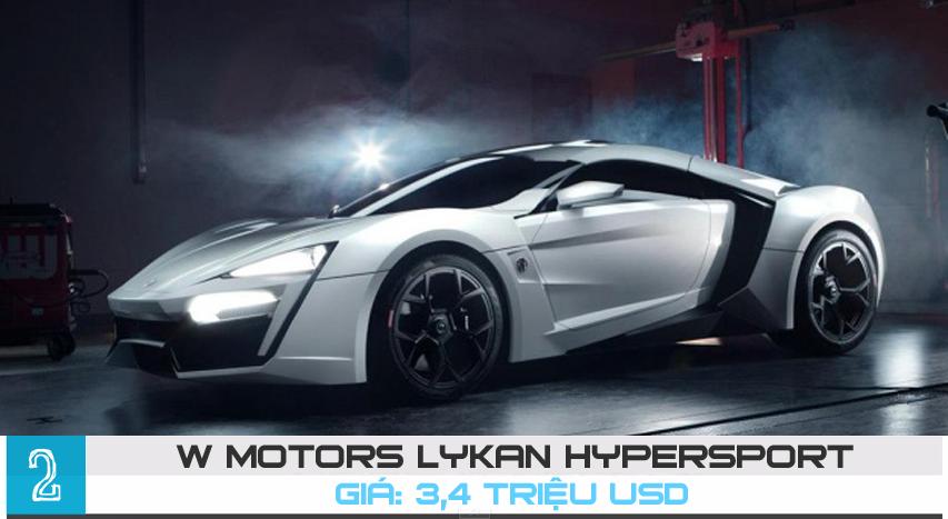 [Infographics] Top 10 siêu xe đắt nhất hành tinh năm 2015 - 9