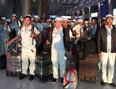 Lao động Việt Nam tại sân bay Incheon (Hàn Quốc)