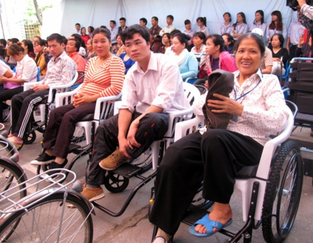 Việt Nam có khoảng 6,7 triệu NKT