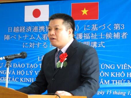 Ông Tống Hải Nam, Cục phó Cục Quản lý lao động ngoài nước (Bộ LĐ-TB&XH),