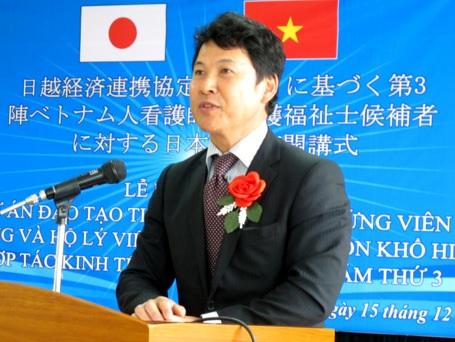 Ông Nagai Katsuro - Công sứ Đại sứ quán Nhật Bản tại Việt Nam