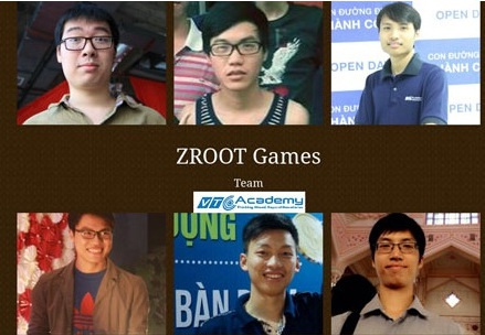 Nhóm Zroot Games- học viên lập trình tại VTC Academy với nguồn thu cao nhất lên đến 250 triệu/tháng