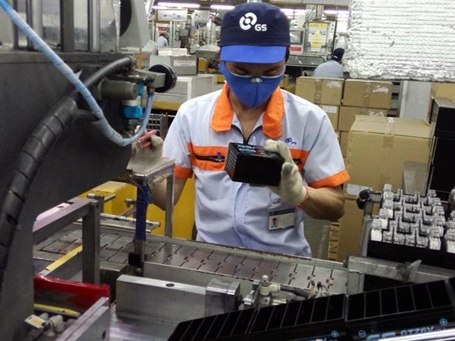 CN được xếp loại xuất sắc của Cty Ắc quy GS (Bình Dương) sẽ được thưởng 3,8 tháng lương.