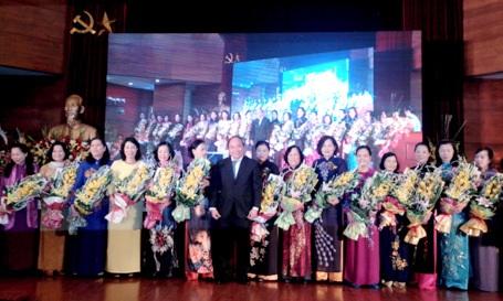 Ra mắt Hiệp hội nữ doanh nhân Việt Nam năm 2014 do T.Ư Hội LHPN Việt Nam bảo trợ