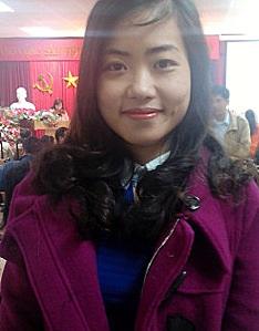 Chị Tạ Thị Thanh Huyền