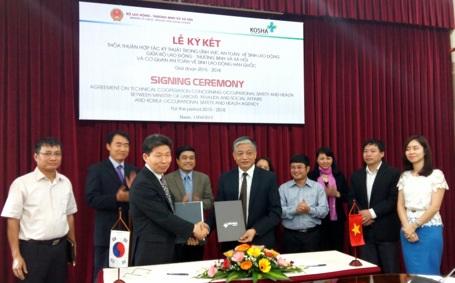 Việt Nam tiếp nhận kinh nghiệm ATVSLĐ từ Hàn Quốc