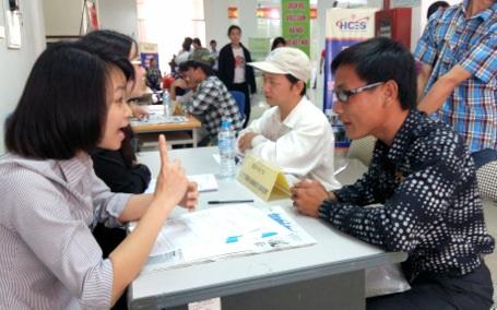 Hơn 30 % người khuyết tật có nhu cầu học nghề và việc làm