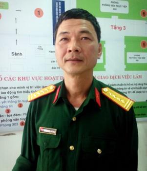 Đại tá Đặng Minh Quang, hiệu trưởng trường Trung cấp nghề số 10