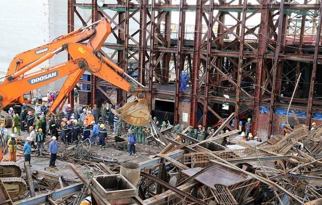 Vụ tai nạn do mất an toàn lao động tại Hà Tĩnh
