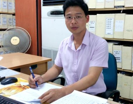 Ông Nguyễn Dương, Phó trưởng phòng Thu (Bảo hiểm xã hội thành phố Hà Nội