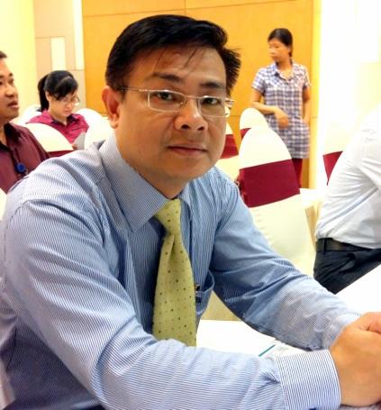 Ông Bùi Trung Kiên - Phó Tổng Giám đốc Ngân hàng TMCP An Bình