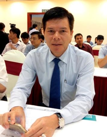 Ông Phạm Mạnh Thắng - Phó Tổng giám đốc Ngân hàng TMCP Ngoại thương Việt Nam