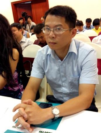 Ông Hoàng Quốc Bách - đại diện Công ty Cổ phần Dược phẩm ECO.