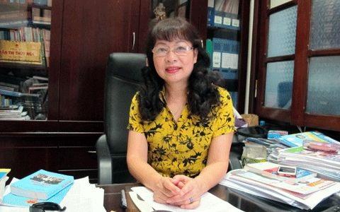 Bà Trần Thị Thúy Nga - Vụ trưởng Vụ BHXH (Bộ LĐ-TB&XH)