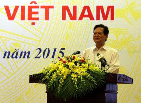 Thủ tướng Chính phủ Nguyễn Tấn Dũng phát biểu