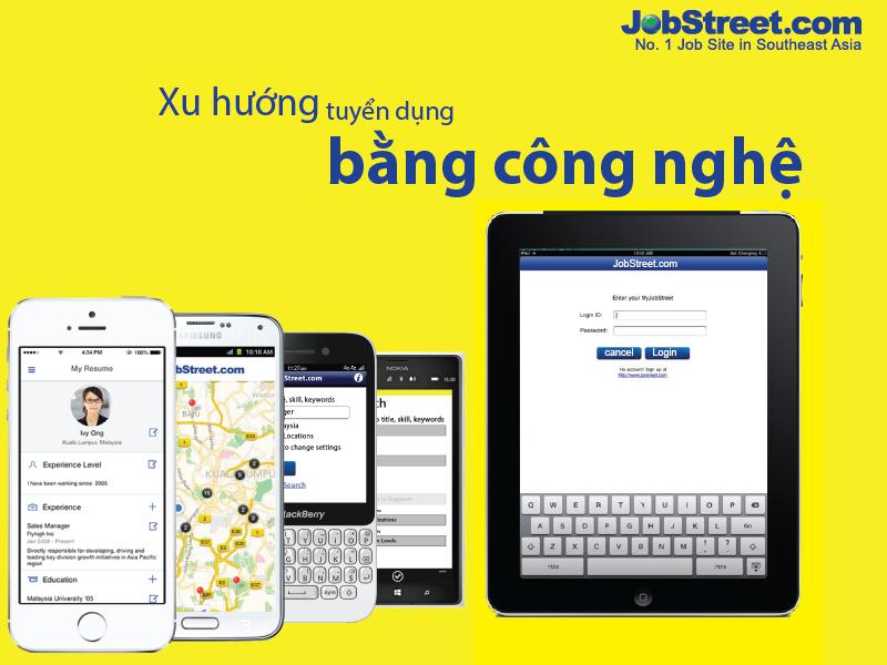 Khảo sát của JobStreet.com trên 280 doanh nghiệp tại sự kiện