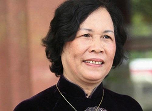 Bộ trưởng Phạm Thị Hải Chuyền (ảnh NLĐ)