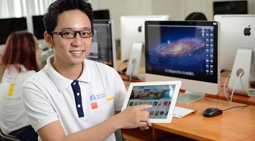 Sinh viên khoa KH&CN – Đại học Hoa Sen