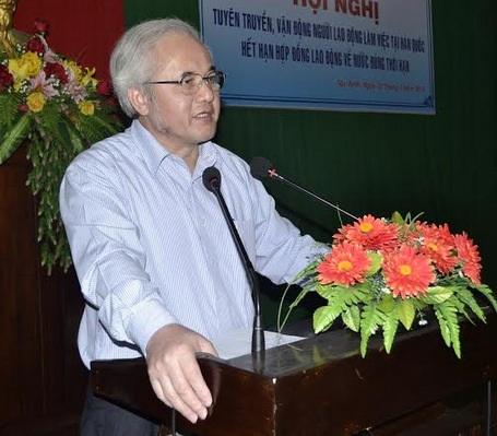 Ông Phan Văn Minh, Giám đốc Trung tâm Lao động ngoài nước (Bộ LĐ-TB-XH)