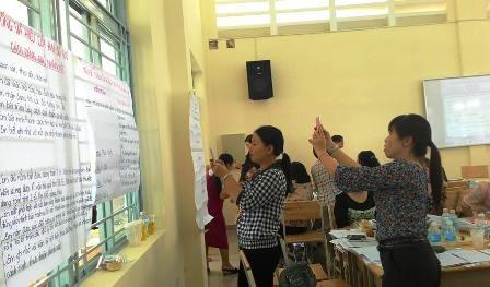Học sinh đang được thầy cô đánh bằng bằng nhận xét đánh đồng, chung chung làm phụ huynh hoang mang