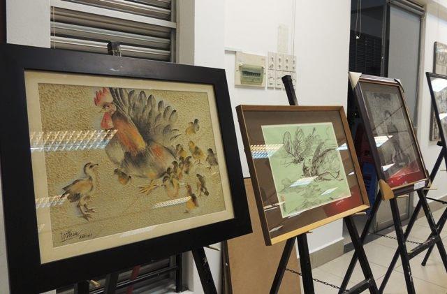 Nhiều tác phẩm mỹ thuật ra đời từ hội trại sáng tác Đồ họa 2015