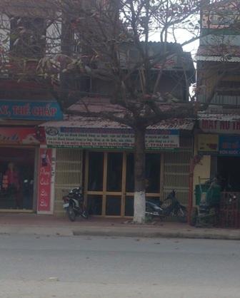 Trụ sở công ty xe buýt Việt Bắc